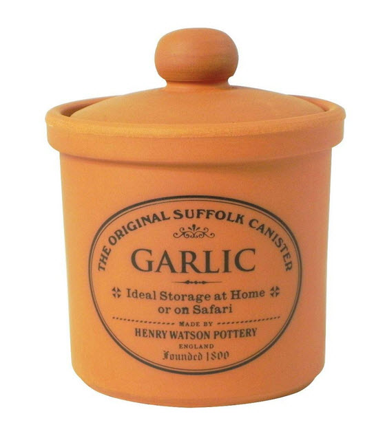 TERRACOTTA-Deckel-Garlic-Jar-Keeper-Made-in-England-The-Original-Suffolk-Collection-by-Henry-Watson